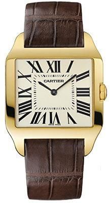 Vintage Cartier Tank Francaise...leather band. Number one on my list of dream accessories!