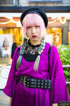Harajuku Trio in Dark vs Colorful Styles w/ Comme des Garcons, Faith Tokyo, Yosuke, WEGO, Regal & Vintage Fashion