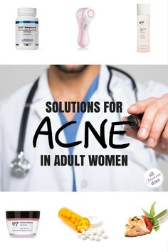 Acne Remedies Acne solutions for adult women suffering from hormonal acne. - I've struggled off and on with acne since my teenage years, and I can tell you that the solution isn't quick o. Cystic Acne Remedies, Natural Acne Remedies, Home Remedies For Acne, Acne Spot Treatment, Acne Treatments, Acne Solutions, Acne Spots, Hormonal Acne