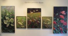 These paintings are currently up at the Art Space Gallery 342 Main St. Rockland, Maine.