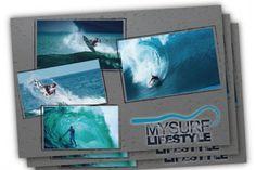 Spazio 14 10 grafica: cartolina per mysurflifestyle
