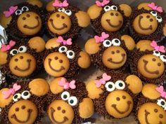 Monkey cupcakes :)