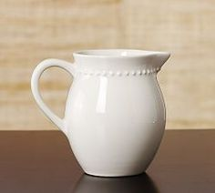 Glass Pitchers, Water Pitchers & Ceramic Pitchers   Pottery Barn