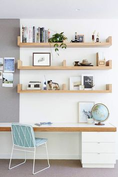 Project 12 Architecture - St Kilda Residence - desk and shelving