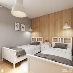 Sypialnia styl Skandynawski - zdjęcie od PROJEKTYW | Architektura Wnętrz & Design - Sypialnia - Styl Skandynawski - PROJEKTYW | Architektura Wnętrz & Design