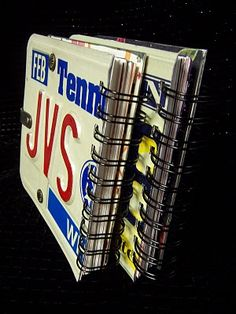 Dianne's Creative Place: License Plate Books