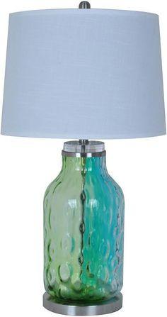 Bayden Hill CVABS784 Pacifica Table Lamp 15 X 17 X 12