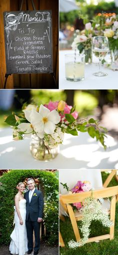 Love this simple, natural centerpiece