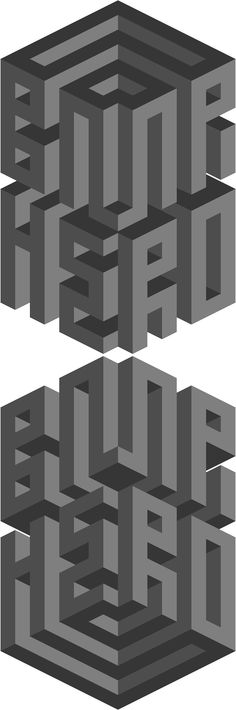 Optical illusions and typography.