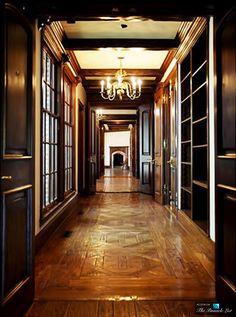 Hallway - Michael Jacksons Neverland Valley Ranch - 5225 Figueroa Mountain Road, Los Olivos, CA