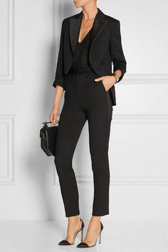 Lanvin | Silk-blend gabardine blazer | NET-A-PORTER.COM