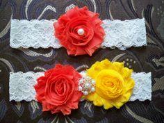 Wedding Garter  Garter  Fall Garter  by BloomsandBlessings on Etsy, $18.00