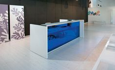glass reception desk - Recherche Google