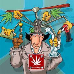 Go Go Gadget  #stayblazed #stonerdays #Padgram