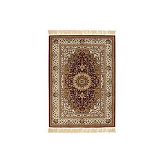 Colours Helina Beige & Red Persian Rug (L)1.7m (W)1.2m | Departments | DIY at B&Q