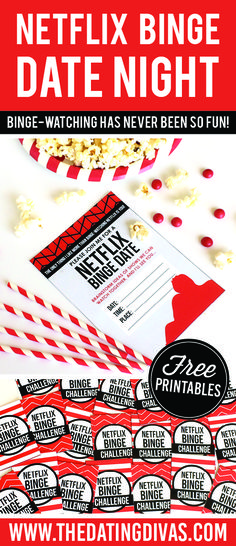 I love this quick and easy date idea! Netflix binge watching here we come! www.TheDatingDivas.com