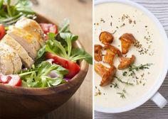 Diyet Yapanlar İçin Çorba Ve Salata Tarifi