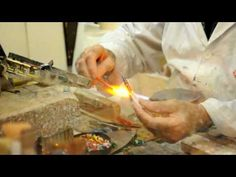 Venice- How to make glass fish - YouTube