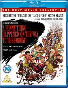 A Funny Thing Happened on the Way to the Forum - Blu-Ray (101 Films Region B) Release Date: January 25, 2016 (Amazon U.K.)