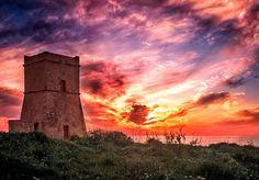 Sunset at Għajn Tuffieħa