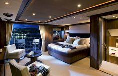 Master Suite onboard @Sunseekeryachts 40m MY/Tanvas #BestofYachting #Yachtcharters