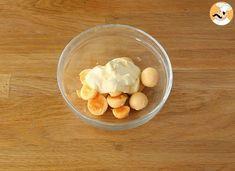 Oeufs mimosa, déclinés en 4 versions, Recette Ptitchef Menu Leger, Buffet, Cocktails, Diet, Breakfast, Avocado, Recipes, Spices, Simple Starters