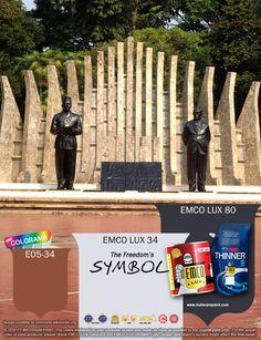 Kawan EMCO, mari kita lanjutkan perjuangan para pahlawan kita dengan terus membangun negeri ini. Mari kita rayakan warna-warni kemerdekaan ini dan tuangkan dalam karyamu dengan warna EMCO LUX 34, EMCO LUX 106 dan E05-34 pada palet EMCO. Bersama EMCO jadikan yang biasa menjadi luar biasa. Silakan kunjungi kami juga di http://matarampaint.com/news.php.