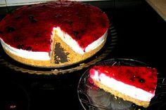 Τζιζ κεικ με μαρμελάδα φρούτα του δάσους! ~ ΜΑΓΕΙΡΙΚΗ ΚΑΙ ΣΥΝΤΑΓΕΣ Sweets Recipes, Desserts, Tiramisu, Cheesecake, Cooking, Ethnic Recipes, Food, Tailgate Desserts, Kitchen