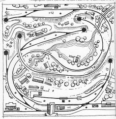 Model Railway Track Plans, N Scale Model Trains, Train Layouts, Planer, How To Plan, Funny, Dioramas, Mockup, Model Building