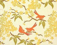 Birds Fabrics by Galbraith & Paul - traditional - upholstery fabric - Galbraith & Paul