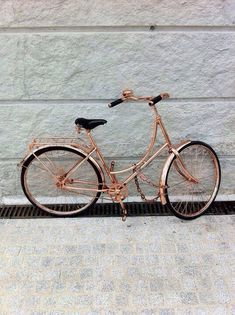 Copper Bicycle | Bella ♡