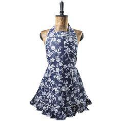Kuchyňská zástěra Indigo Indigo, Apron, Pattern, Blue, Fashion, Moda, Indigo Dye, Fashion Styles, Patterns