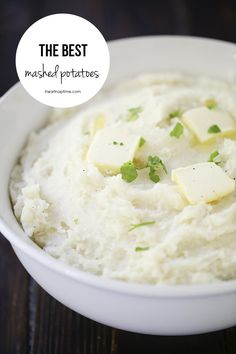 The creamiest mashed potato recipe on iheartnaptime.com ...they are simple to whip up and taste AMAZING!