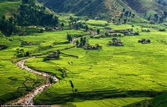 Green haven! Sapa is one of the most beautiful places in earth, and is home to villagers w...