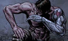 Steve Rogers Bucky Barnes, Bucky And Steve, Captain America 2, The Dark Side, James Barnes, Winter Soldier Bucky, Avengers Comics, Superhero Design, Fanart