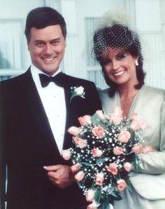 JR & Sue Ellen Ewing on Dallas