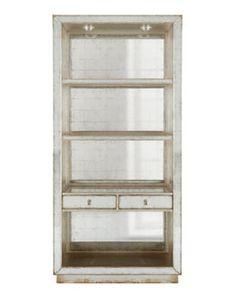 H71ME John-Richard Collection Regent Mirrored Bookcase