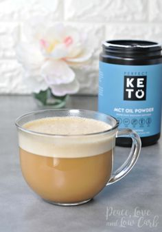 Perfect Keto Boosted Coffee | Peace Love and Low Carb