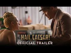 George Clooney, Scarlett Johansson, Channing Tatum, Tilda Swinton and Josh Brolin in Coen Brothers HAIL CAESAR first trailer Streaming Movies, Hd Movies, Movies To Watch, Movie Tv, 2016 Movies, Brothers Movie, Coen Brothers, Cleopatra, Working Title Films