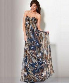 Camo prom dresses 2013 are coming with a large variety of colors starting from black, orange, green, and even pink. Camouflage Prom Dress, Camo Prom Dresses, Camo Dress, Sexy Dresses, Strapless Dress Formal, Casual Dresses, Long Dresses, Dress Long, Prom Gowns