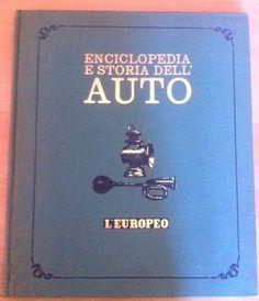 AA.VV. Enciclopedia e storia dell'Auto l'Europeo 1968 L5487