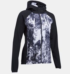 be296a679727 Details about Under Armour Women s Out Run The Storm Printed Jacket 1304715  - S