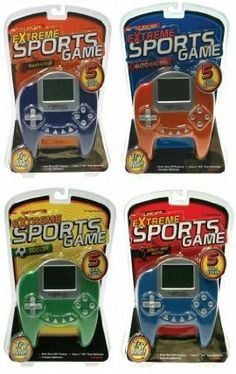"""eXtreme Sports Game - Electronic Handheld Basketball Game by Westminster. $25.00. Includes Batteries. Uses 2 """"AA"""" Size Batteries (Included). 5 Skill Levels. Auto Shut-Off Feature. Sports Games. Satisfaction ensured. Keeps your child entertained and engaged. Great gifts for your little adorable ones."""