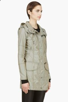 Parajumpers Khaki Mary Todd Windbreaker for women | SSENSE