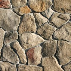 Category: Field Stone  Style: Rubble  Color: Chardonnay....posibility Cladding Design, Stone Cladding, Wall Cladding, Faux Stone Walls, Brick And Stone, Stone Work, Brick Face, Rock Fireplaces, Rustic Home Design