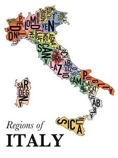 Map of #Italy #travel