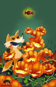 Halloween Fox by jmsf-co