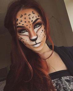 Leopard Makeup for Best Halloween Makeup Ideas