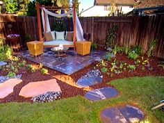 Love this!  Yard Crashers online From DIYnetwork.com