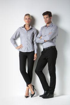 MISEMIYA Pantalon Chino Utilidades De Camarero Lavoro Donna